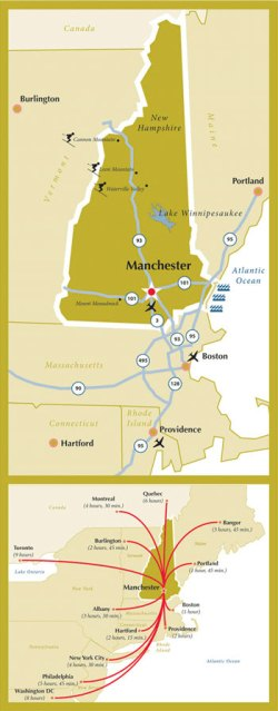 Manchester Airport Map